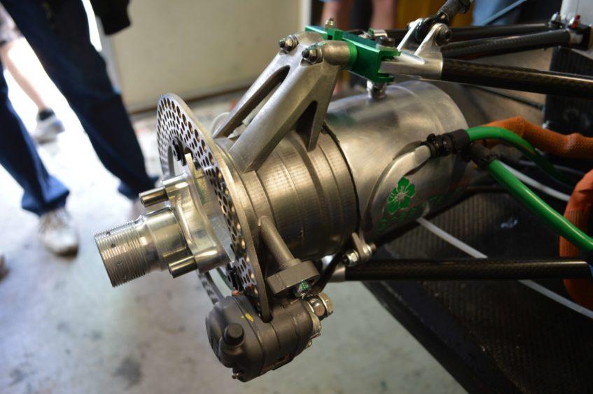 Renishaw Radtraeger Formula Rennwagen, Source:  Renishaw