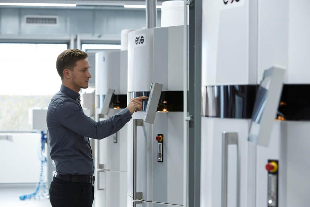 Stefan de Groot, Technologe Additive Fertigung METAV-Presseforum