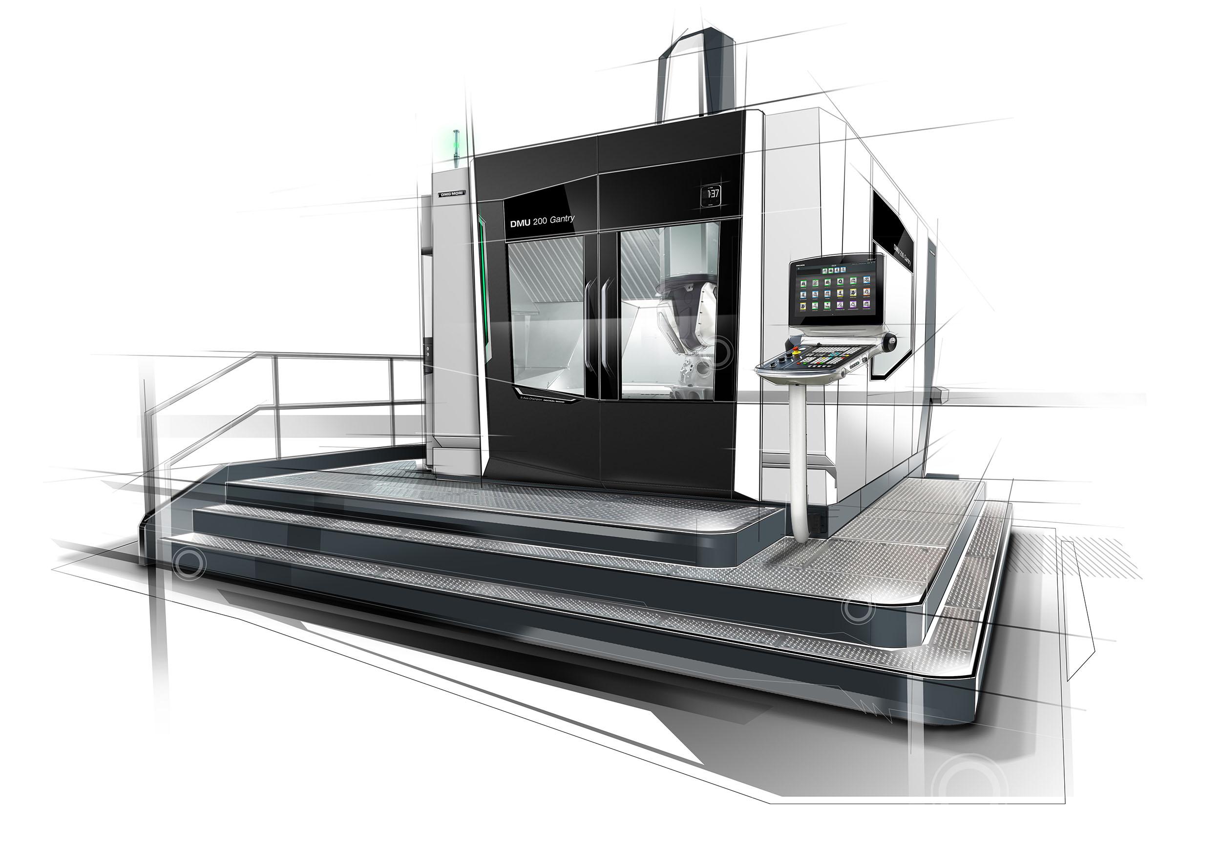 Gantry Milling Machine, Source: DMG Mori