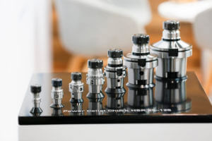 The second largest group of exhibitors at METAV are precision tools.