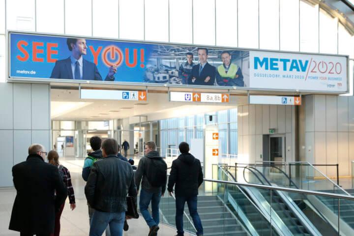 Die METAV 2018, Düsseldorf, METAV 2020