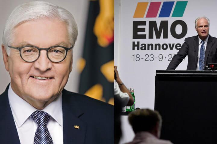 EMO Hannover 2017 Preview am 21./22. Juni 2017, Tagungsbereich Halle 19/20, Messegelände Hannover. Im Bild: Carl Martin Welcker, Generalkommissar der EMO Hannover