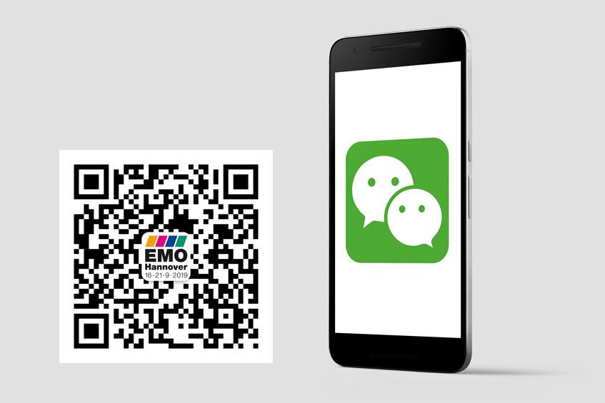 Gut aufgestellt bei Social Media: Seit 2017 gibt es die EMO Hannover auch bei WeChat.