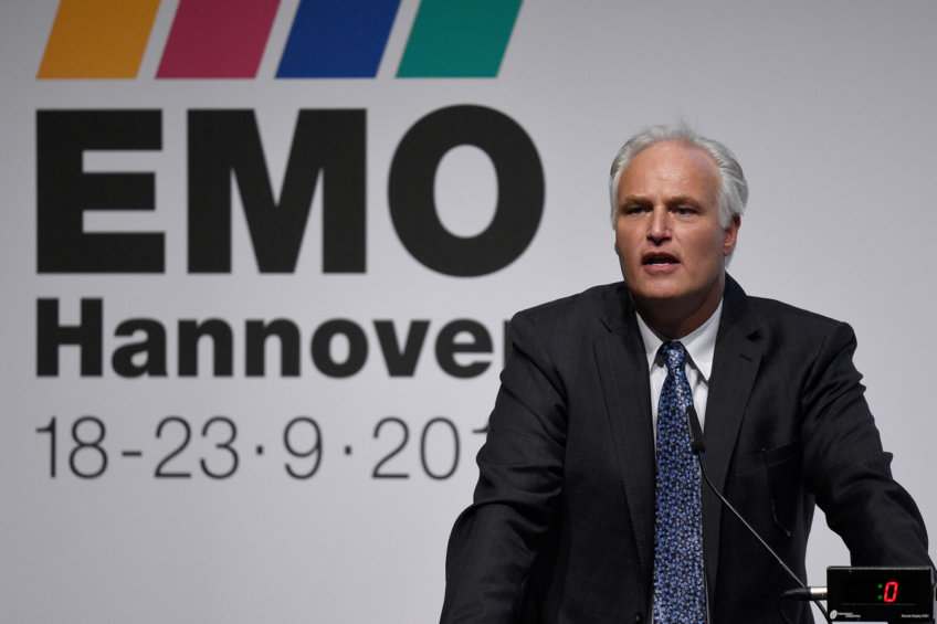 Since 2011, Carl Martin Welcker, CEO and President of Alfred H. Schütte GmbH in Cologne, has been representing the EMO Hannover as its General Commissioner, and at many public appearances in Germany and abroad has been raising awareness of the world's premier trade fair for the field of metal-working.