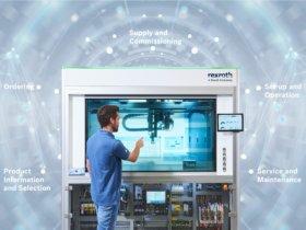 Bosch Rexroth verbindet reale Komponenten und Systeme durchgängig mit Software zu kompletten Lösungen. Foto: Bosch Rexroth