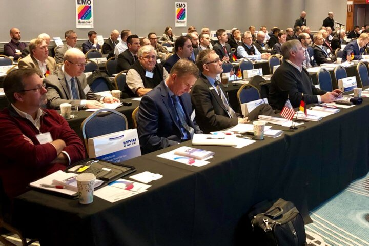 The VDW Symposium was held in Detroit, Michigan, the heart of the US automotive industry, and in Charlotte, North Carolina, a prime location for the automotive, supplier, aircraft, engineering and medical technology industries.