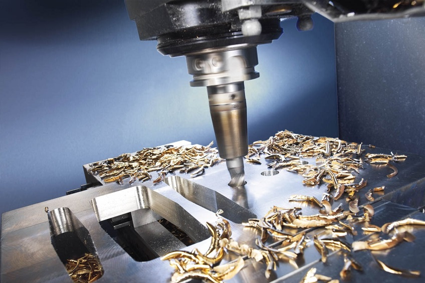 The shavings which are produced when machining using minimum quantity lubrication (MQL) are virtually residue-free and can be recycled directly.