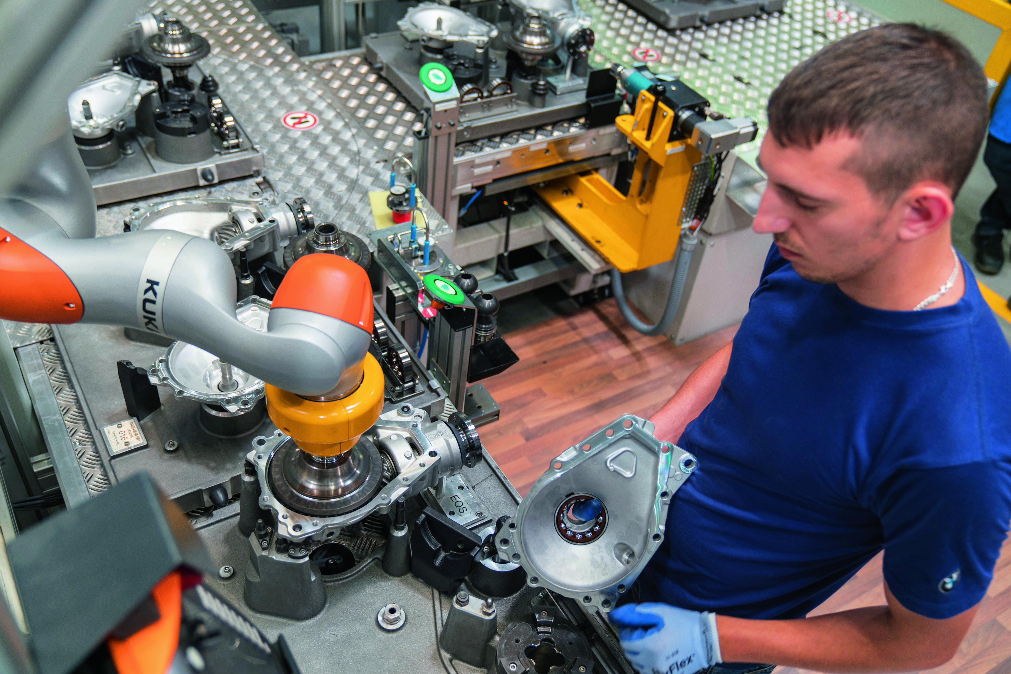 Roboterapplikation , Foto: BMW Group