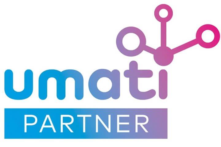 Alle umati-Partner auf der EMO Hannover sind an diesem Logo zu erkennen. Bild: VDW