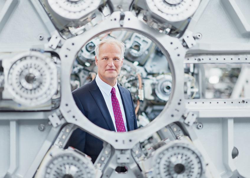 Carl Martin Welcker President of the Verbands Deutscher Maschinen- und Anlagenbau (VDMA)
