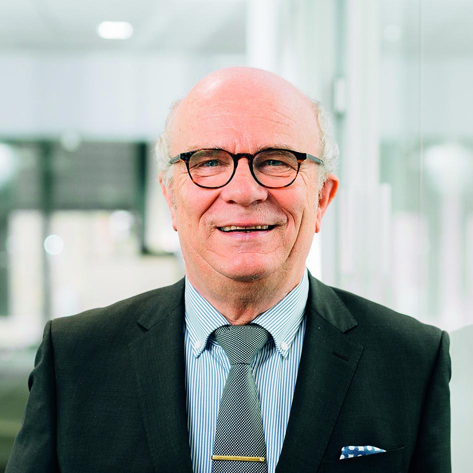 Peter Bole, Leiter der Nachwuchsstiftung Maschinenbau in Bielefeld