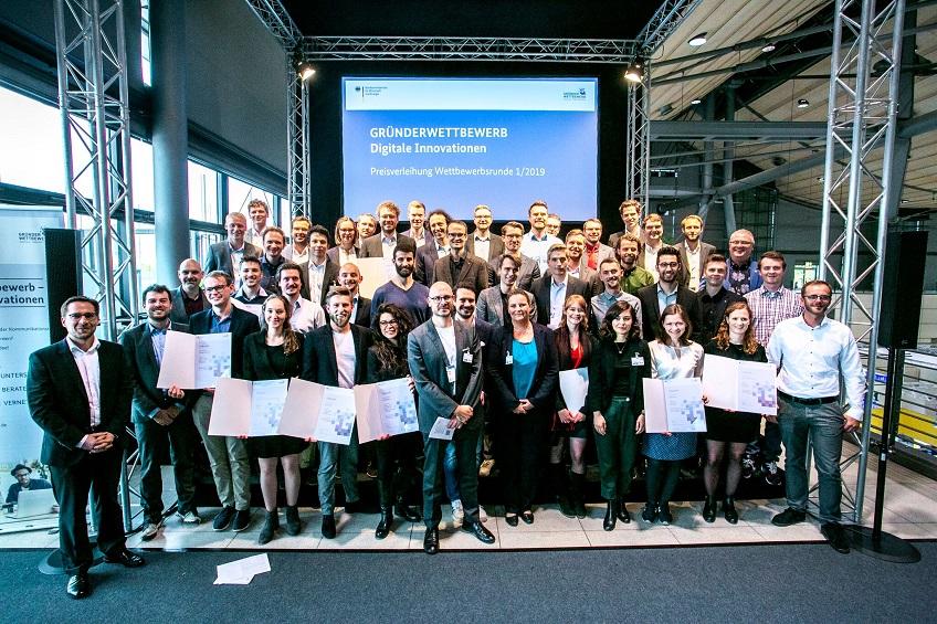 Gründerpreisverleihung Gruppenfoto Foto: Andrea Janssen