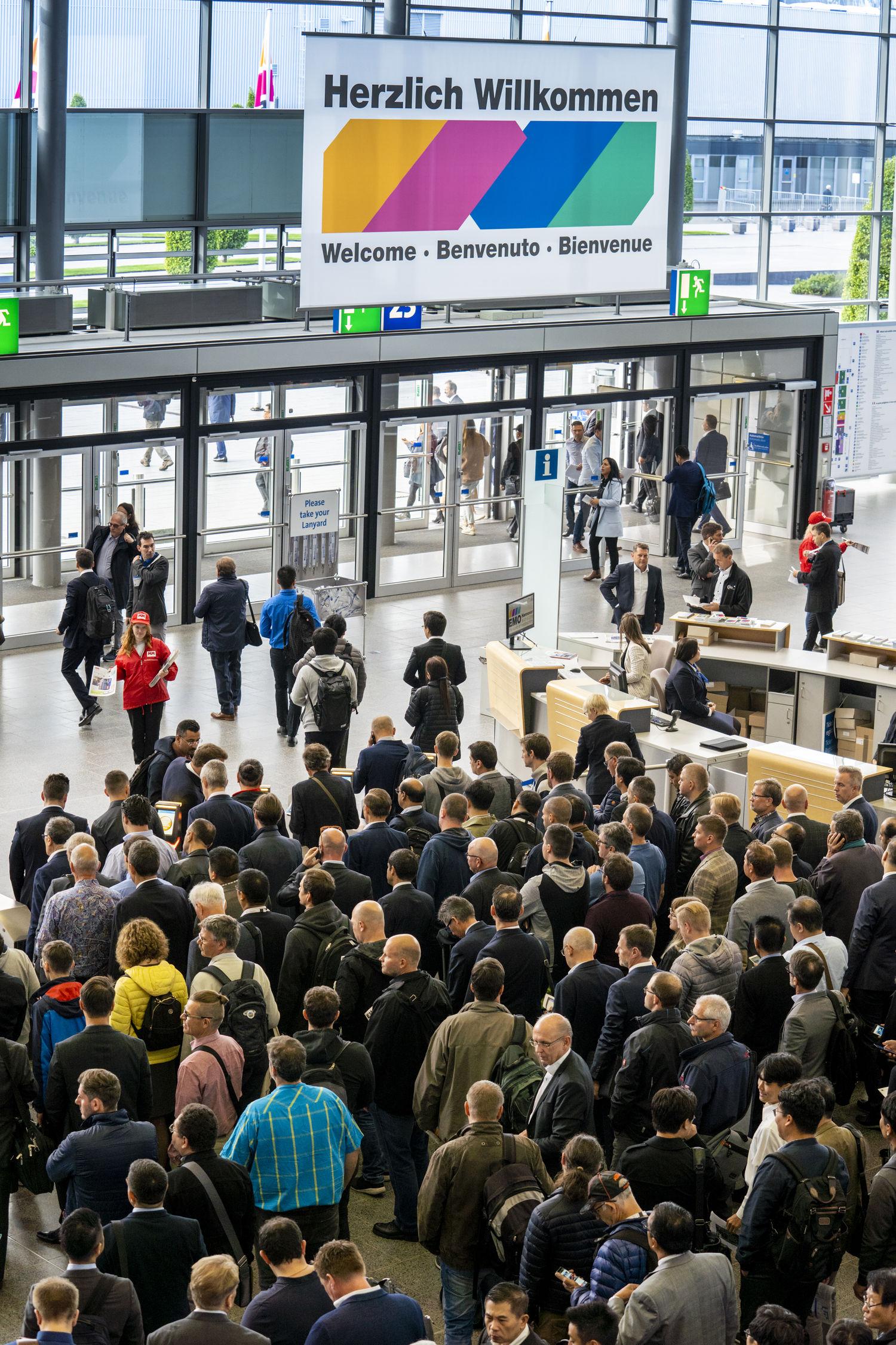 Vom 16. bis 21. September trafen sich rund 117.000 internationale Produktionsexperten aus 150 Ländern zur EMO Hannover 2019.