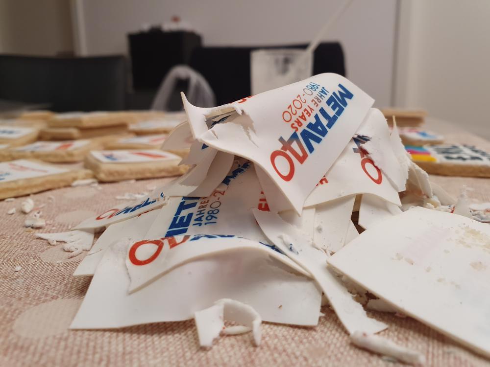 Glück im Unglück: der Obladenverlust konnte ausgeglichen werden, weil wichtige Obladen doppelt vorlagen.  (Foto: Dr. Stefan Schwaneck)