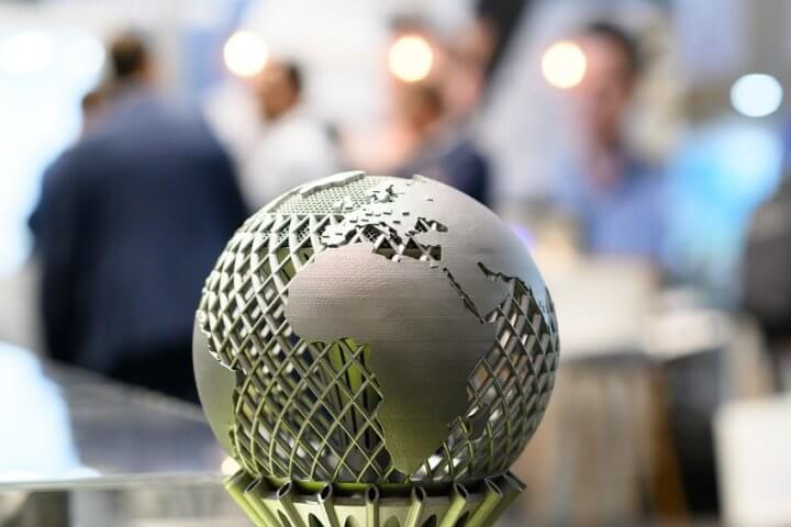 EMO Hannover 2019 - Weltleitmesse der Metallbearbeitung.Präzisionswerkzeuge (Hallen 3, 4, 5, 6): Zerspanungswerkzeuge / Spannzeuge. TRUMPF, Halle 9, Stand K02