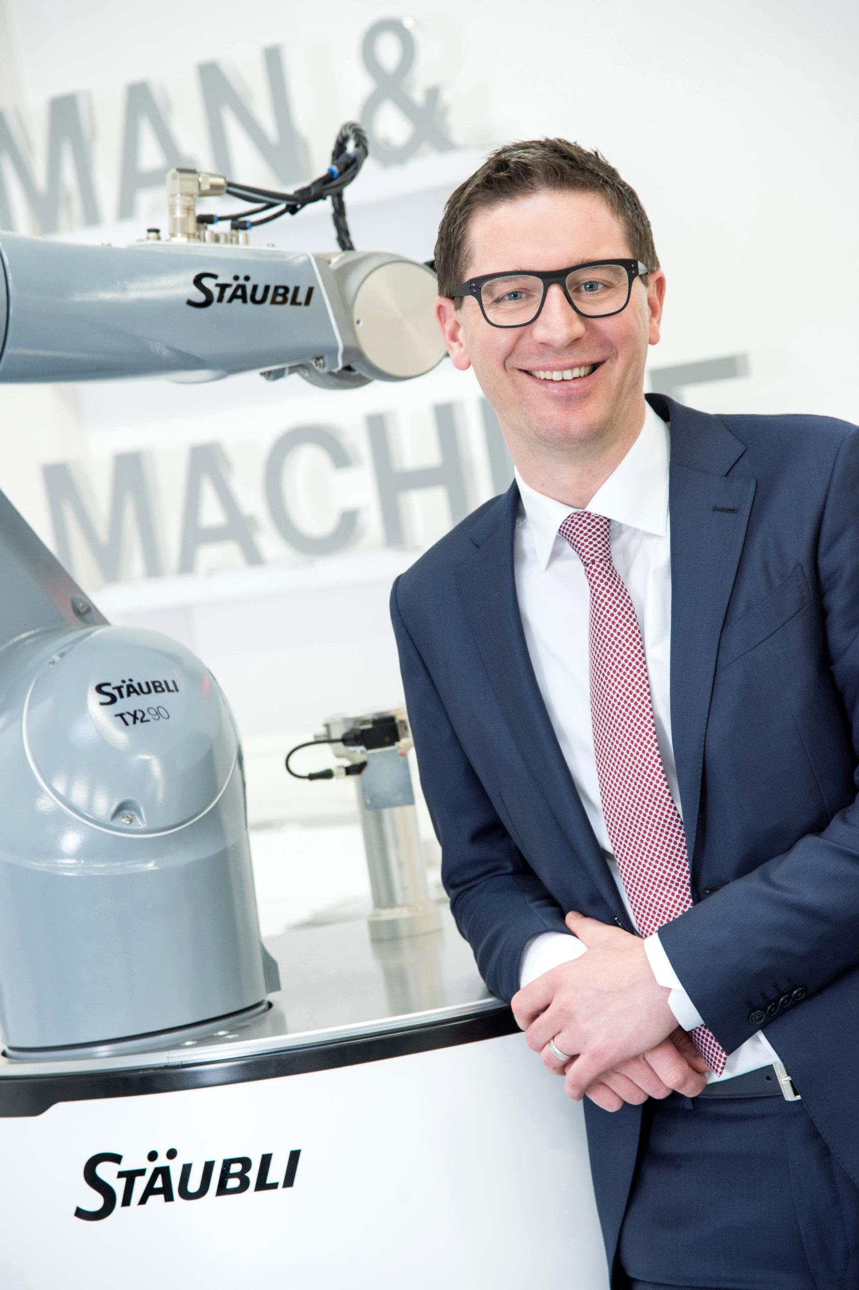 Peter Pühringer, Division Manager at Stäubli Robotics Bayreuth: