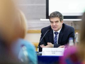 VDW-Jahrespressekonferenz 2020 - Dr. Heinz-Jürgen Prokop
