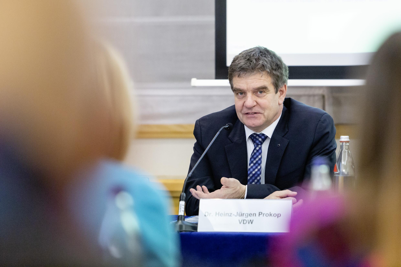 VDW-Jahrespressekonferenz 2020 – Dr. Heinz-Jürgen Prokop