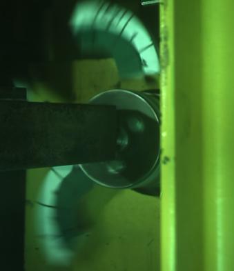 Bursting grinding wheel