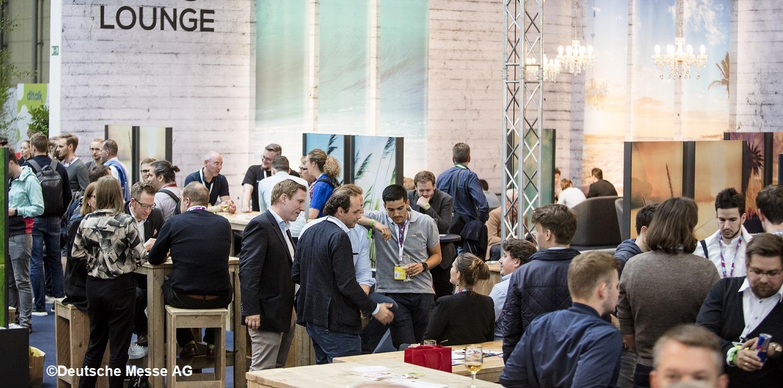 Am 27. Oktober bietet sich Gelegenheit für kreativen Dialog zwischen Start-ups und produzierenden Unternehmen. (Bildquelle: Deutsche Messe AG)