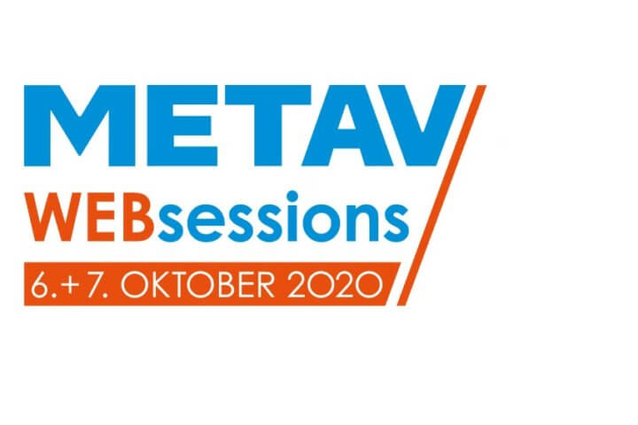 METAV Web-Sessions finden im Oktober, den 06. und 07. statt.