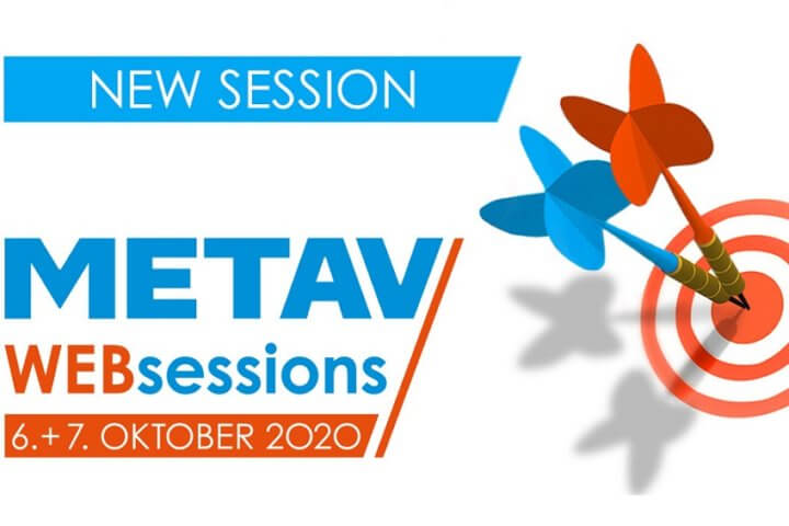 METAV Web-Sessions will start on 06 October 2020.