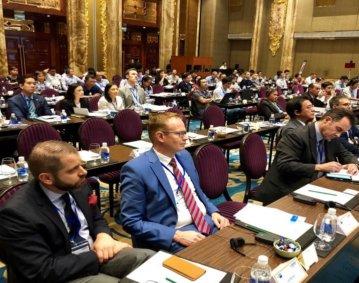 Regelmäßig bietet der VDW seinen Mitgliedern Gelegenheit interessante Absatzmärkte im Rahmen von Technologiesymposien, wie hier in Südkorea 2019, kennenzulernen. 2020 findet erstmals ein Symposium virtuell statt.