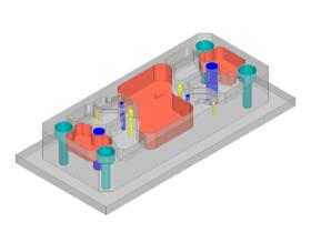 Mit dem hyperMILL-Automation Center können Anwender die Programmierung für einfache Bauteile selbst automatisieren. Bild: Open Mind Technologies