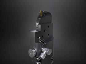 PTS-System von Horn und Kistler: Der smarte Werkzeughalter beispielsweise für Index-Mehrspindelmaschinen gibt dem Anwender Informationen über den Zustand des Werkzeugs während des Bearbeitungsprozesses. Foto: Paul Horn GmbH
