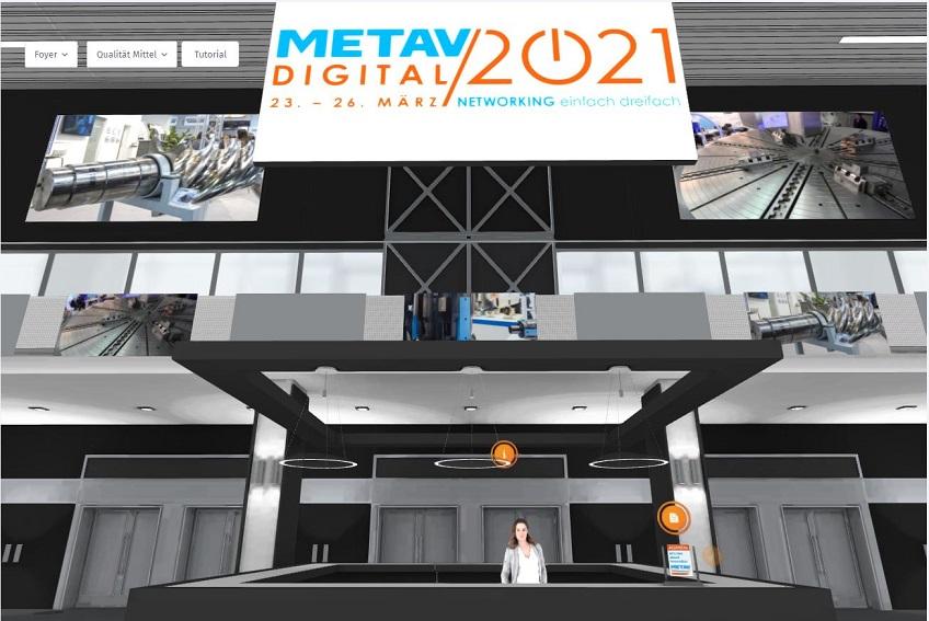 Messefeeling digital – heute öffnet die METAV im Netz