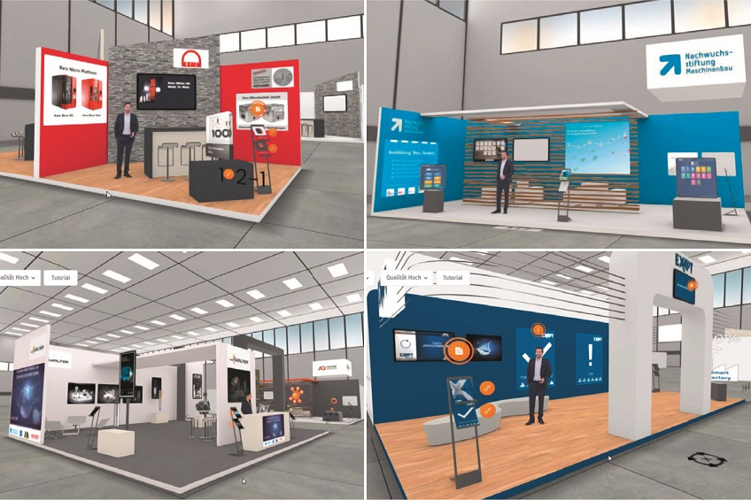 The virtual METAV offering a varied programme to trade visitors.