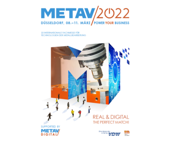The exhibitor registration for METAV 2022 was sent last week, and more than 200 participants have already confirmed their participation.